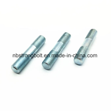 Double Thread Bolt with Zinc Plated/China stud/thread rod factory,China stud/thread rod manufacturer