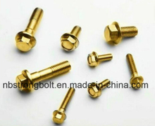 Yzp DIN6921 Hex Flange Head Bolt,China flange bolt factory ,China flange bolt manufacturer