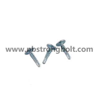 "C1022 Phil Drive Modify Truss Head Self Drilling Screws with Bsd#2 Drill Zinc Plated #8X3/4""/China self drilling screw factory,China screw factory"