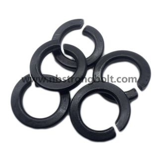 DIN127B Spring Lock Washer with Black Oxid M30/Spring Lock Washer DIN127B,China Washer factory,China washer manufacturer