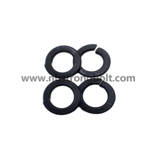 DIN127B Spring Lock Washers with Black Oxid M8/Spring Lock Washer DIN127B,China Washer factory,China washer manufacturer