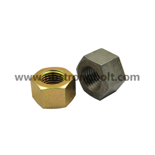 "ASTM A194 Gr. 2h Heavy Hex Nut Black 3/8""-16/China nut factory,China hex nut manufacturer"