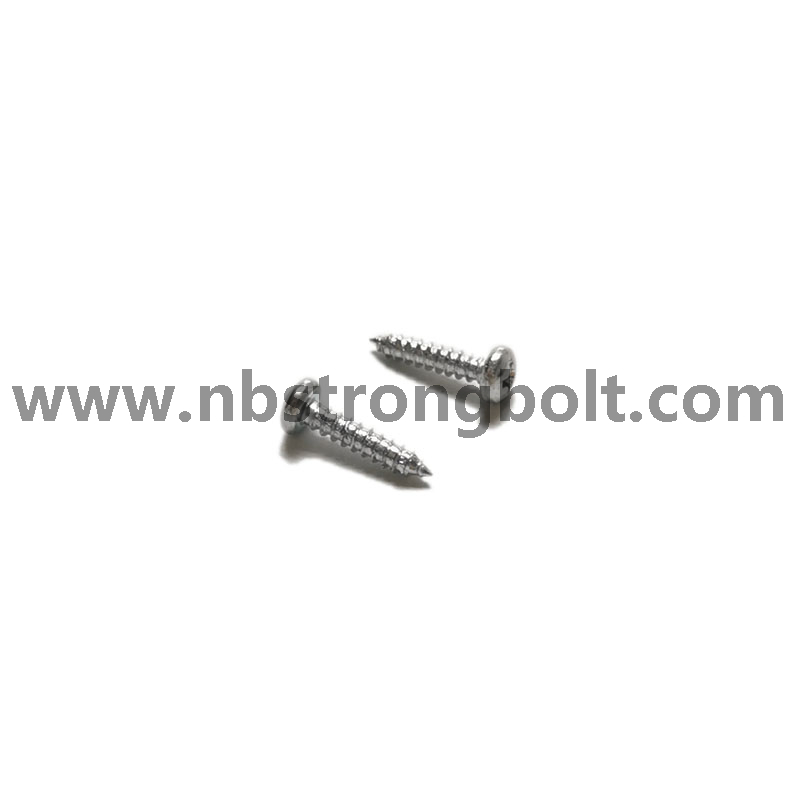 DIN7981 C-H Pan Head Tapping Screw With Cross Recessed M2.9X13/China machine screw factory,China machine screw manufacturer
