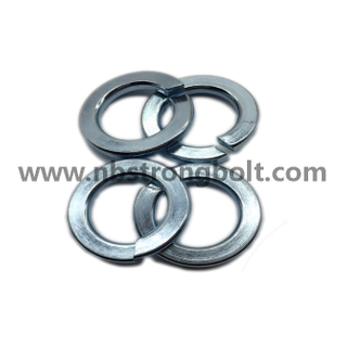 "ASME B 18.21.1 1999 Spring Lock Washers with Zinc Plated Cr3+ 9/16""/China Washer factory,China washer manufacturer"