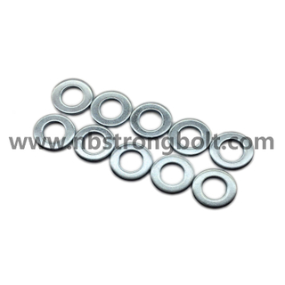 DIN125A Flat Washers Carnbon Steel with Zinc Plated Cr 3+ M10/China Washer factory,China washer manufacturer