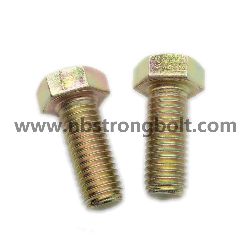 DIN933 Hex Bolt Cl. 8.8/China hex Bolt manufacturer,China bolts factory,China hex bolts factory