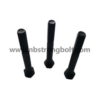 Manufacturer Hex bolts ASTM/ANSI Unf Gr. 8 Black ,China fasteners factory