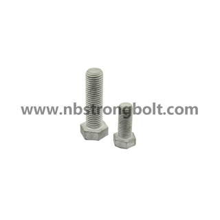 Hex Bolts HDG with Nut and Washer