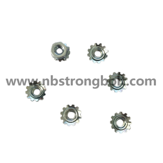 Carbon Steel Kep Nut K-Lock Nut with External Tooth