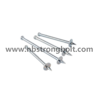 Nk Drive Pin with Matel Washer, Enk, Shooting Nail3.7X32 (NK32)/China shooting nail factory,China shooting nail manufacturer