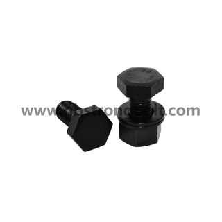 ASTM A325 Heavy Hex Bolt with Black Oxid/China hex bolts manufacturer,China Structural Bolt factory,China astm bolts