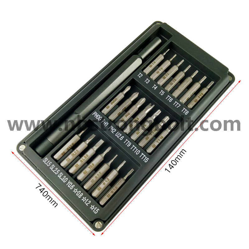22 In1 Alloy Handle Screwriver Batch Set/China batch set factory,China screwdriver manufacturer