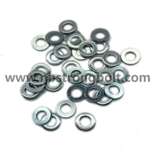 DIN125A Flat Washers Carnbon Steel with Zinc Plated Cr 3+ M6/China Washer factory,China washer manufacturer