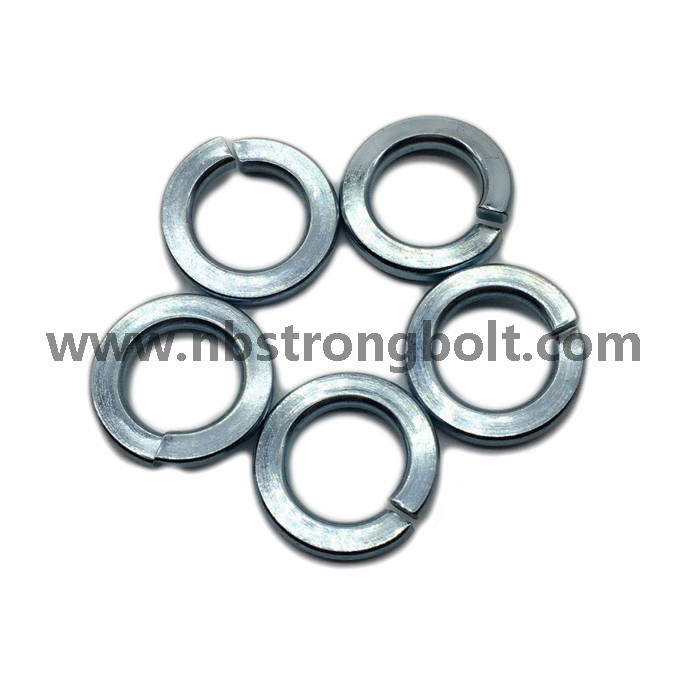 "ASME B 18.21.1 1999 Spring Lock Washers with Zinc Plated Cr3+ 1/2""/China Washer factory,China washer manufacturer"