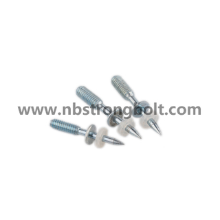 Drive Pin with Thread and Washer, Shooting Nail/China shooting nail factory,China shooting nail manufacturer