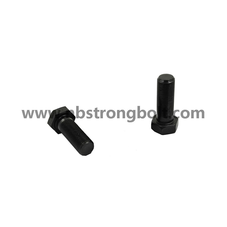 Hex Bolt with Black Oxid/China hex bolt factory,China hex bolt manufacturer