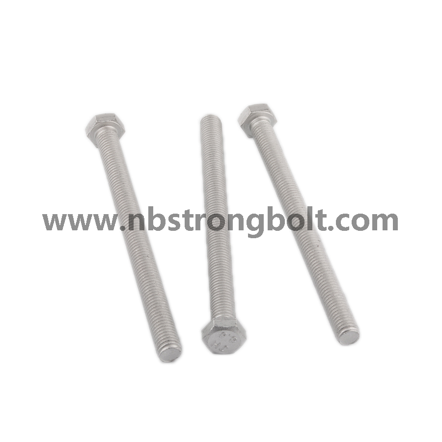 High Tensile Strength Hex Bolt with Decromet/China hex bolt factory,China hex bolt manufacturer