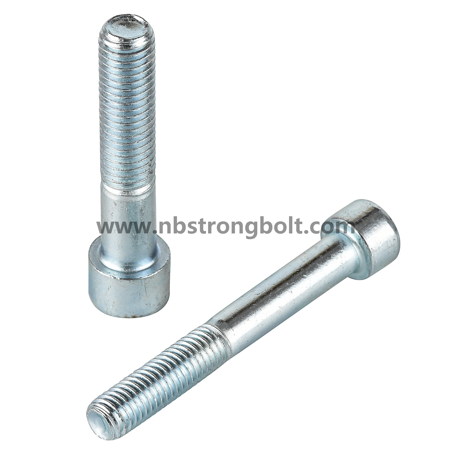 Hexagon Socket Head Cap Screws Hexagaon Socket Bolts DIN912 Grade 8.8 with White Zinc Plated Cr3+ M12X120 Ht/China bolt factory ,China bolt manufacturer