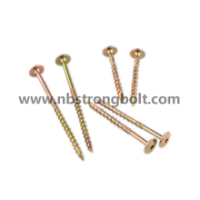 10b21 Tx Wafer Head Chipboard Screw with T17 Cut Point /China chipboard screw factory,China chipbopard screw manufacturer
