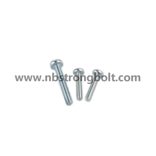 DIN7985 Ph Cross Recessed Raised Cheese Head Screw Zinc/China screw factory,China screw manufacturer