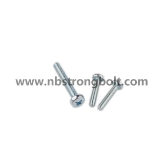 DIN7985 with Zp Cr3+Ph Cross Recessed Raised Cheese Head Screw/China screw factory,China screw manufacturer