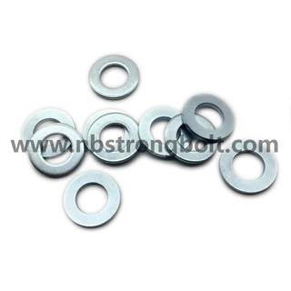 DIN125A Flat Washer with White Zinc Plated Cr3+ M24/China Washer factory,China washer manufacturer