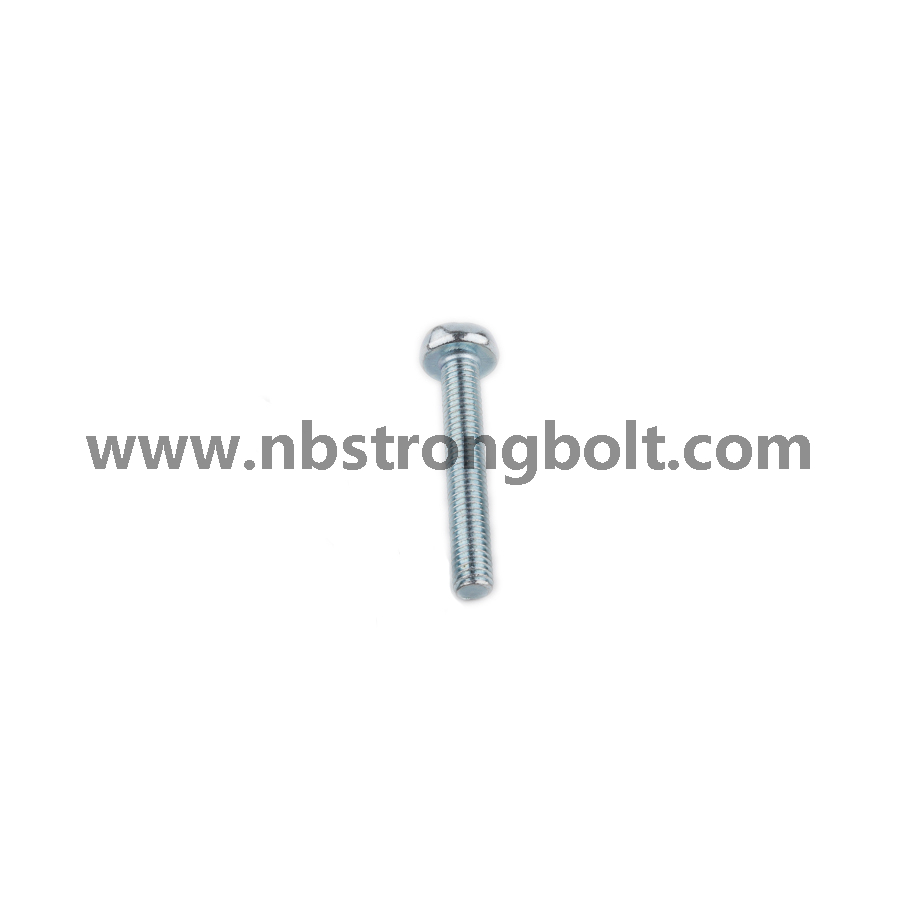 DIN7985 Ph Cross Recessed Raised Cheese Head Screws, Machine Screws M3X25 with Zinc Plated/China screw factory,China screw manufacturer