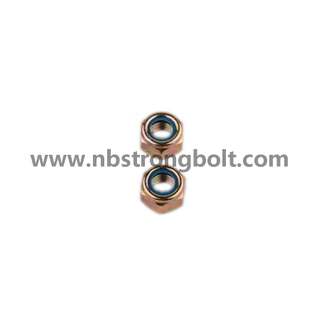 DIN985 Hex Nylon Lock Nut/China nut factory,China hex nut manufacturer