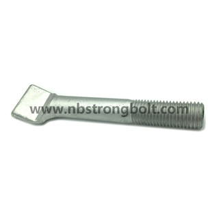 Stud M27 Gr. 8.8 with Hot DIP Galvanized
