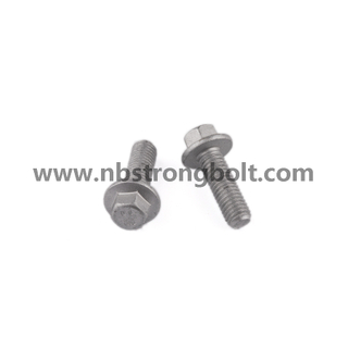 DIN6921 Hex Flange Bolt with Yellow Zp