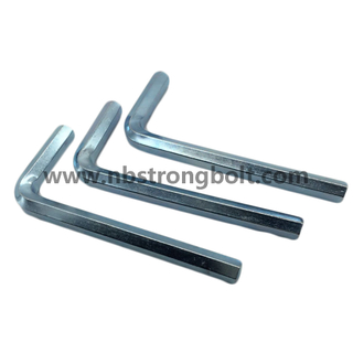 Hex Allen Key with Zinc Plated/China allen key/wrench factory,China spanner/wrench factory
