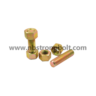 ASTM A193 Stud Bolt Gr. B7 Yzp,China STUD bolt factory,China stud bolt manufacturer