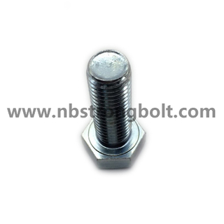 Hex Head Bolt, Hex Bolt, DIN933 Cl. 10.9 with Znc Plated Cr3+/China hex Bolt manufacturer,China bolts factory,China hex bolts factory