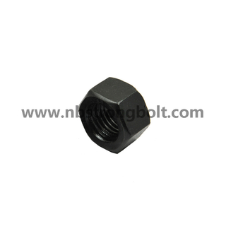 "ASTM A194 Gr. 2h Heavy Hex Nut Black 5/16""-18/China nut factory,China hex nut manufacturer"