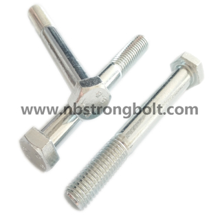Hex Bolt DIN931 Cl. 8.8\China hex bolts factory ,China hex bolts manufacturer