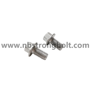 DIN6921 Hex Flange Bolt Cl.8.8 With Dacromet 1000/ China hex bolt factory /China bolt manufacturer