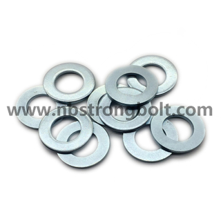 DIN125A Flat Washer with White Zinc Plated Cr3+ M30/China Washer factory,China washer manufacturer