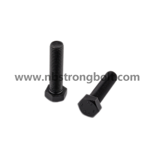Hex Heavy Structual Bolt with ASTM A325 Black Oxid/China Structual Bolt manufacturer,China bolts factory,China hex bolts factory