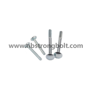 Round Head Square Neck Bolts, Mushroom Head Square Neck Bolts DIN603 Cl. 4.8 China carriage bolt factory,China carriage bolt manufacturer