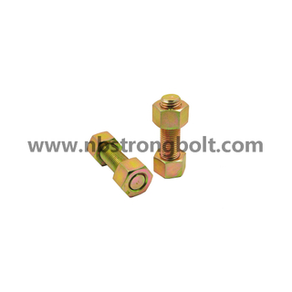 ASTM A193 Stud Bolt Gr. B7 and ASTM 2h Nut/China STUD bolt factory,China stud bolt manufacturer