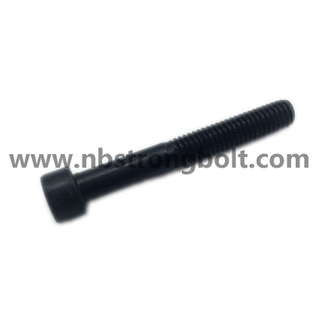 Hexagon Socket Head Cap Screws Hexagaon Socket Bolts DIN912 Grade 12.9 with Black Oxid M6X45 /China socket bolt factory ,China socket bolt manufacturer
