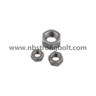 DIN934 Hex Nut Class 8 with HDG M24\China hex nut factory,China hex nut manufacturer