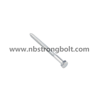 Hexgon Head Wood Screw DIN571 Gr. 4.8/China wood Screw factory,China wood Screw manufacturer