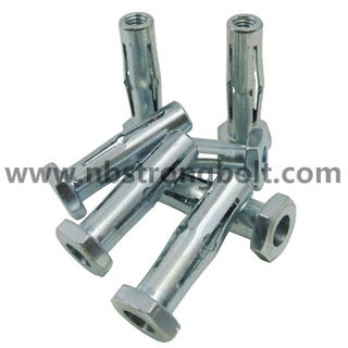 Hex Head Hollow Anchor With Zinc/ China Bolt Anchor Factory,China Bolt Anchor Manufacturer
