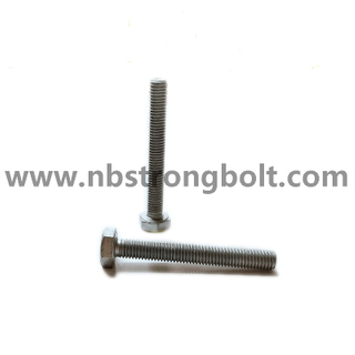 DIN933 Hex Bolt Cl.8.8 With HDG ISO Fitting M8X60/China hex bolt factory,China bolt manufacturer